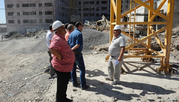Ավան 4 բնակարանային համալիրի կառուցման ընթացքի մասին պատմող տեսանյութ