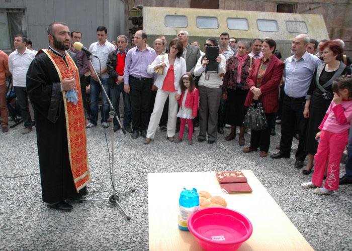 Բնակարանային համալիրների օրհնման արարողություն (18)
