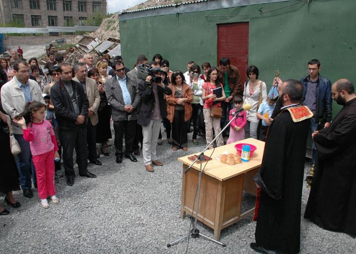 Բնակարանային համալիրների օրհնման արարողություն (19)