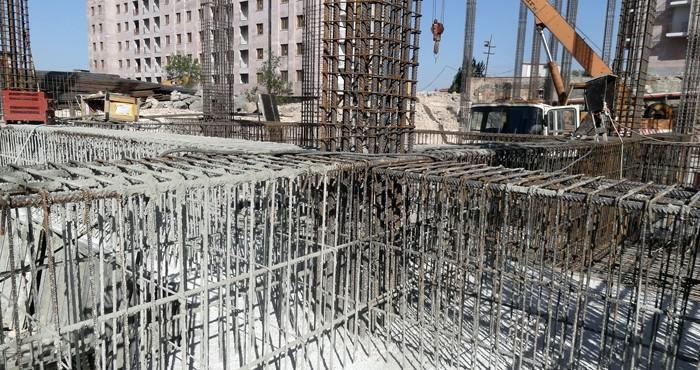 Զեյթուն 2 համալիրում ընթանում են հիմքերի կառուցման աշխատանքները