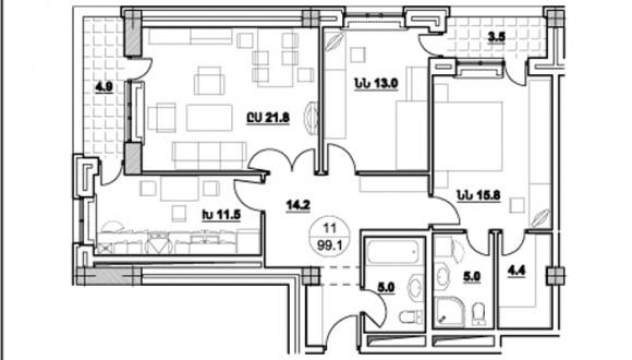 Ծարավ Աղբյուրի 558 շենքի նախագծերը (12)