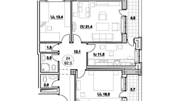 Ծարավ Աղբյուրի 558 շենքի նախագծերը (7)