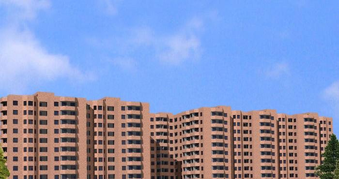 Կառուցվող շենքի եռաչափ նկարները