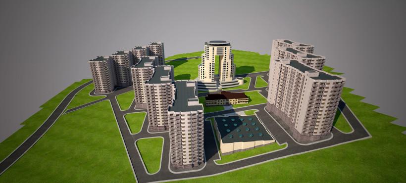 «Վերածնունդ» երիտասարդական ավան ծրագրի շրջանակում կառուցվող շենքերի հատակագծերը