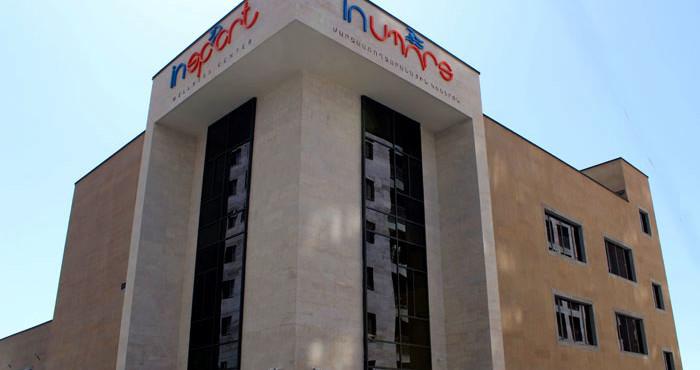 «ԻնՍպորտ» մարզահամալիրն իր դռները կբացի այս տարվա սեպտեմբերին